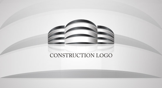 3D BUILDING CONSTRUCTION LOGO INSPIRATION