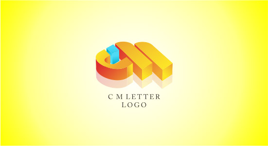 Fashion type for 3d logos