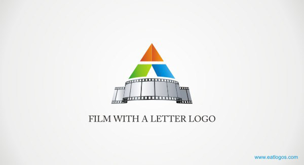 Colorful logo design for 3d