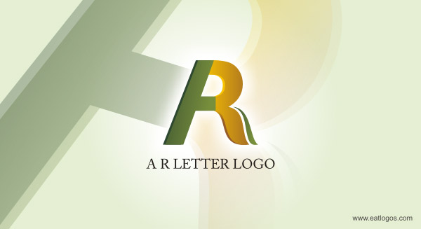 A & R 3D LOGO INSPIRATION IDEA