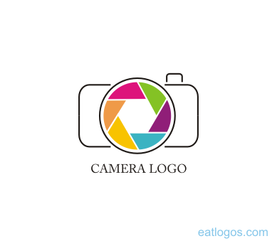 vector camera leans logo design download vector logos