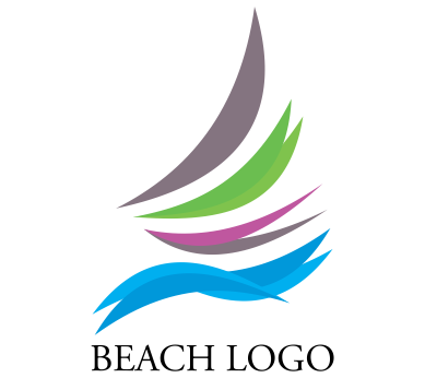 Vector tourism beach entertaiment logo inspiration ...