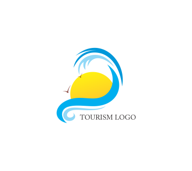 vector tourism logo design download vector logos free