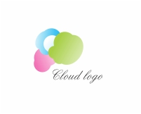 Vector Cloud Logo