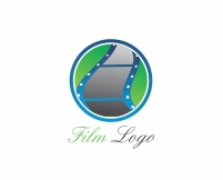 Vector Film Roll Logo