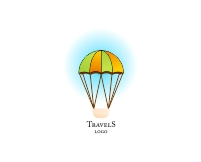 Tourism logo design vector type