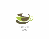 Vector Food Modern Coffee Cup Logo