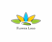 vector_sun_flower_logo
