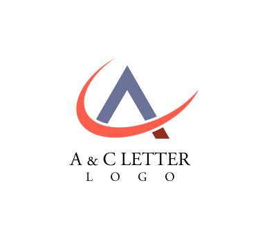 A c letter alphabets vector logo download | Alphabet logos ...