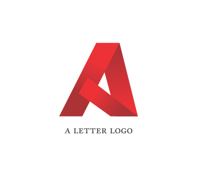 Alphabet a letter psd logo design download | Vector Logos ...