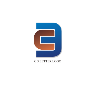 free c 3 letter logo design download