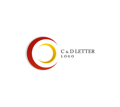 C Zebra Letter Logo Design with Black and White Stripes