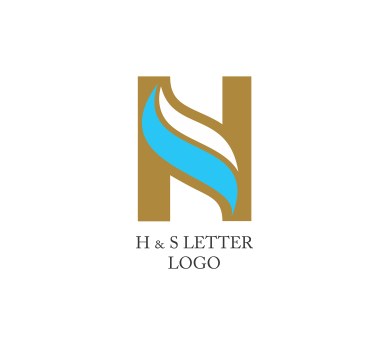H S Letter Logo Design Download Vector Logos Free