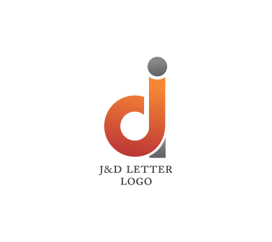 j d letter psd logo design download vector logos free