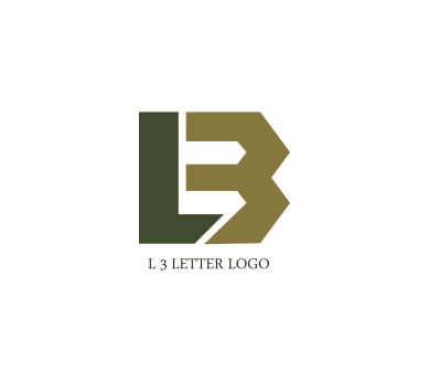 free l 3 letter logo design download
