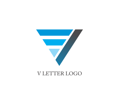 letter v logo design download vector logos free download