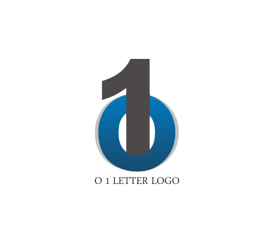 o 1 letter logo design download vector logos free download list