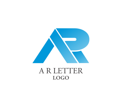 Vector alphabet a r letter logo inspiration idea download ...