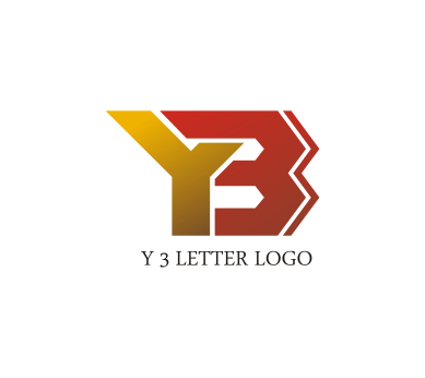 free y 3 letter logo design download