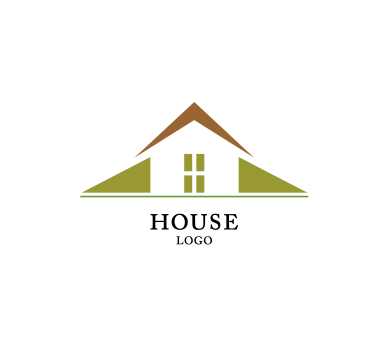 House building construction vector logo inspiration for Household design logo