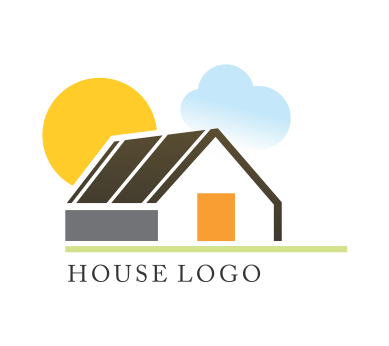 House logo design download vector logos free download for Household design logo