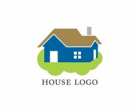 Abstract building logos
