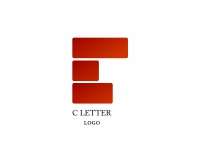 Vector Construction C Letter Logo