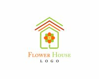 vector_flower_building_logo