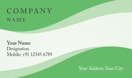 Free Visiting Card Template Download