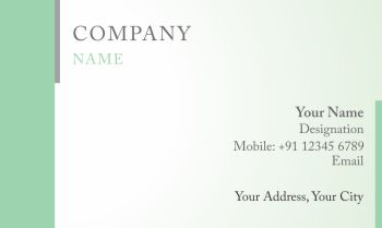 New concept visiting card designs