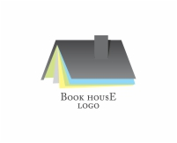 Vector logo design for school