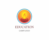 Graduation cap type logo design