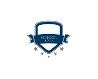 Education type vector logo