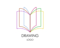vector_colourful_education_book_logo