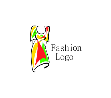 fashion dress colourful vector logo download vector logos free rh eatlogos com fashion logos saying fashion logos and their names