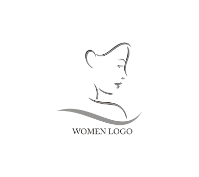 lady face vector logo download vector logos free