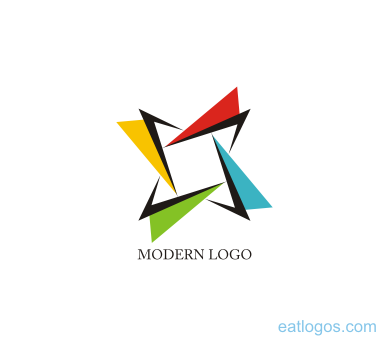 Modern Star Image Graphic Design
