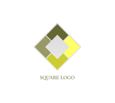 square restaurant cheif inspiration vector logo design