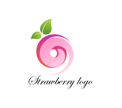 Vector food strawberry fruits logo inspiration download ...