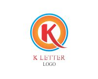 Vector K Food Logo