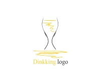 Vector Glass Bottle Logo