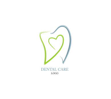 Dental Care Heart Hospital Inspiration Vector Logo Design Download
