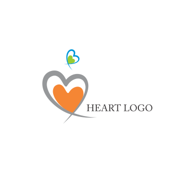 vector heart fashion letter logo inspirations download vector