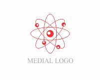 Medical symbol logo design