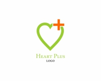 Vector Hospital Heart Plus Logo