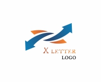 Up arrow symbol logo design